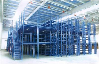 中型阁楼货架结构