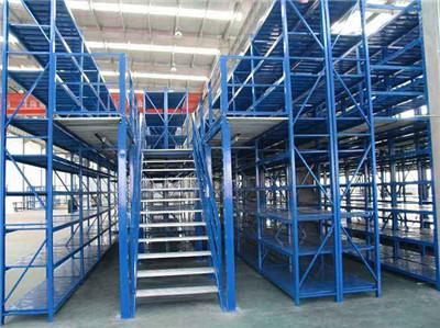 中型阁楼货架生产工艺